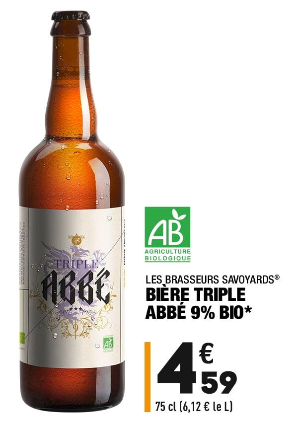 Bière Triple bio