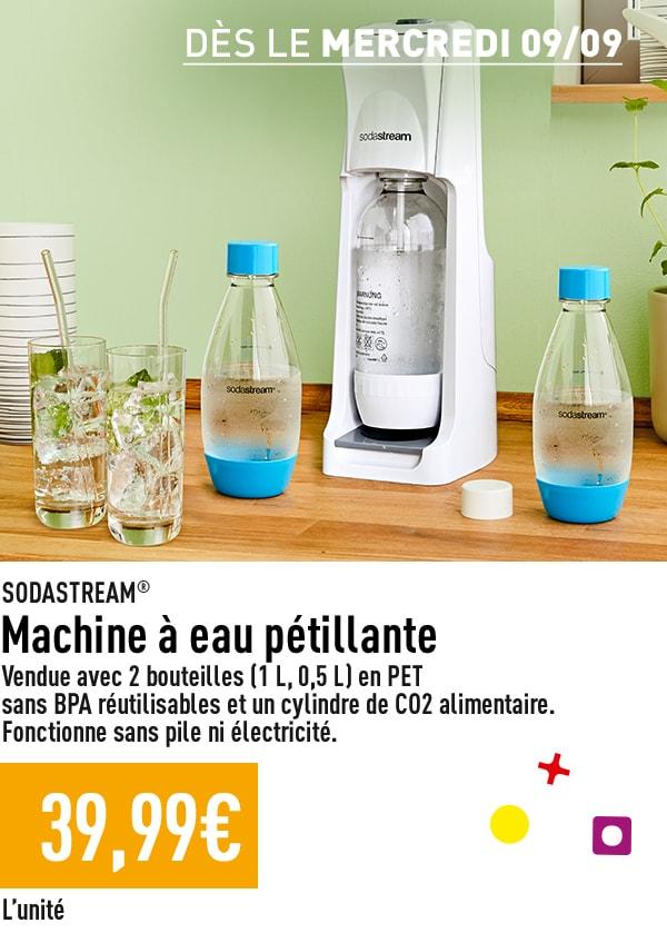 Machine à eau pétillante