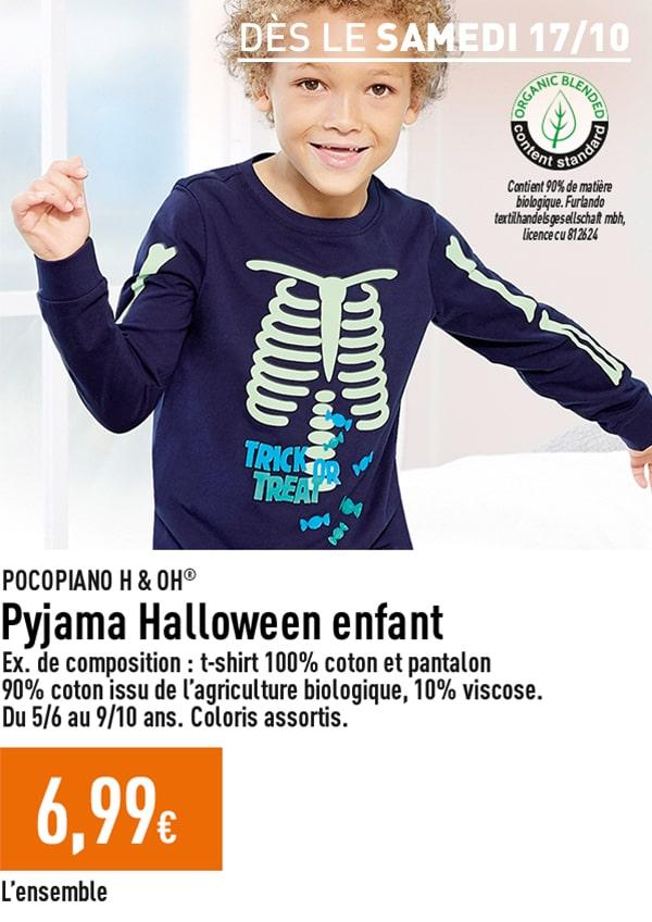 Pyjama Halloween enfant