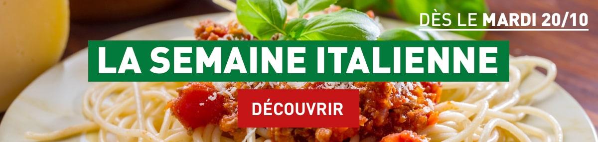 La semaine Italienne - Découvrir