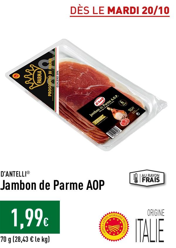 Jambon de Parme AOP