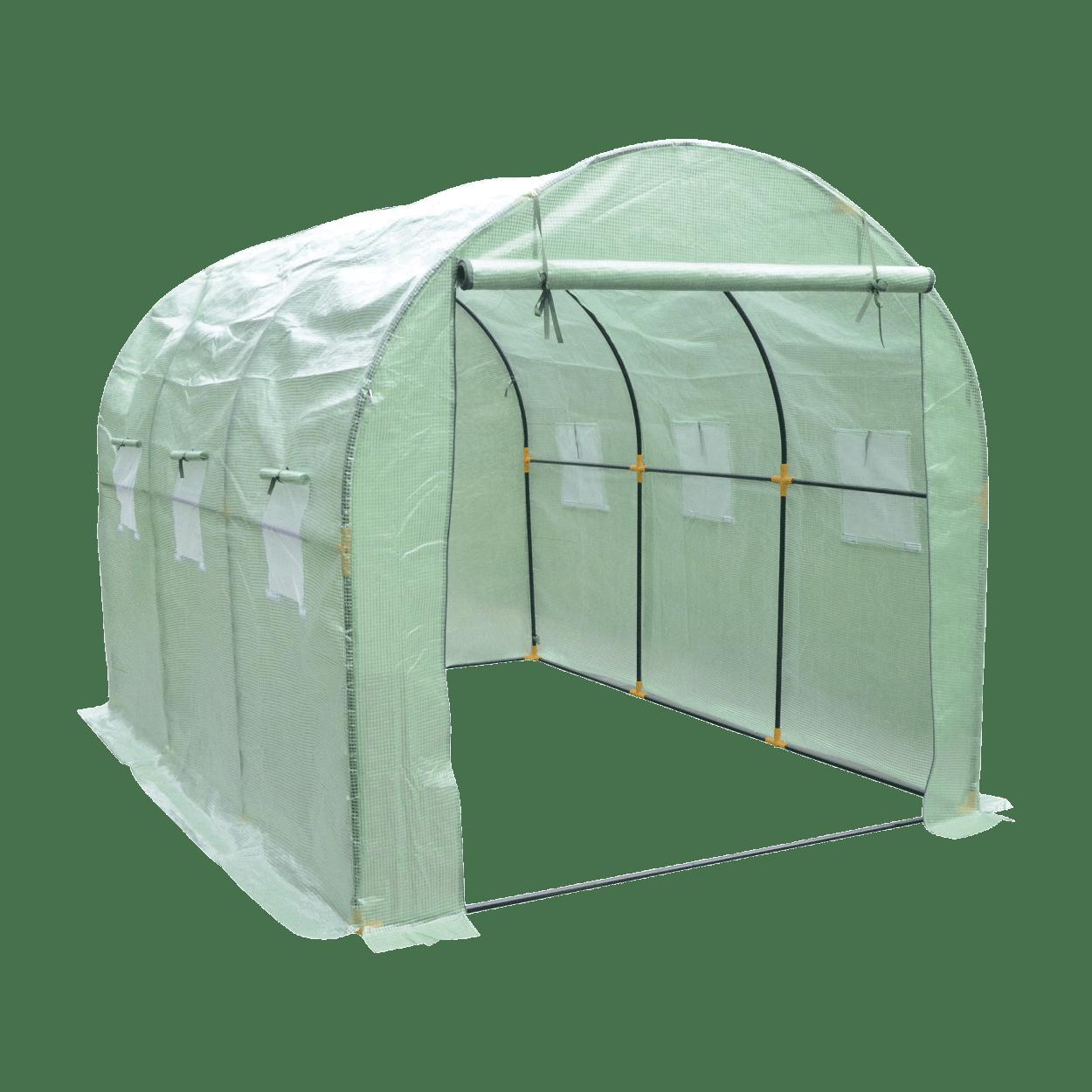 Serre de jardin tunnel à bas prix chez ALDI